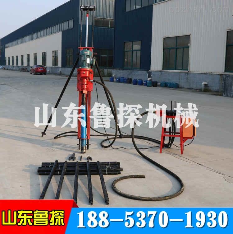 气电联动潜孔钻机kqz-70d型冲击回转式钻机
