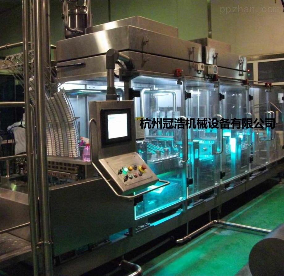 杭州冠浩机械GHZCF自动灌装封口机