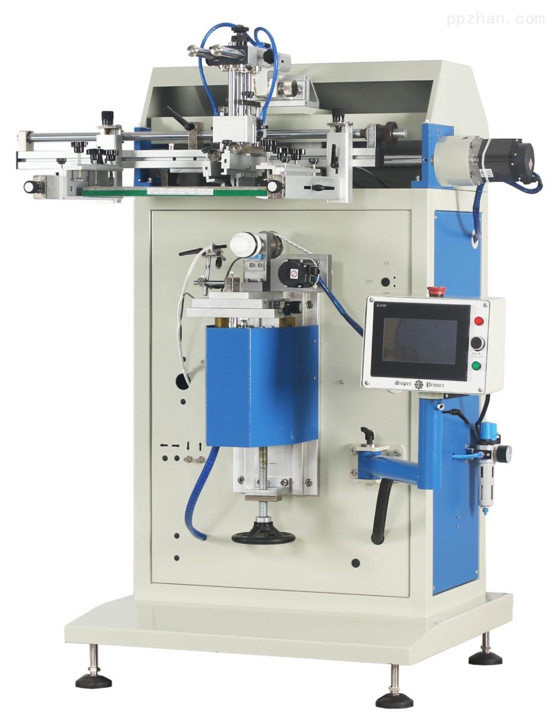 SS2-450S-恒晖特别定制伺服曲面丝印机