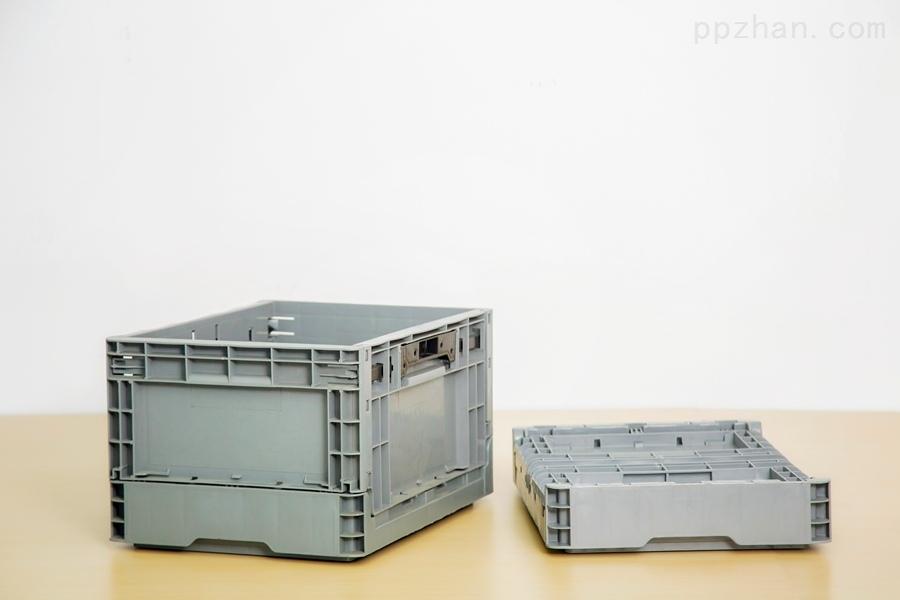 苏州迅盛内倒式折叠箱S603塑料箱生产批发