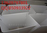 供应重庆纸箱式中空板周转箱厂家供应