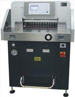 誉冠GR-498PX程控液压切纸机