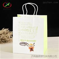 长春厂家纸袋牛皮纸手提袋方底环保礼品袋
