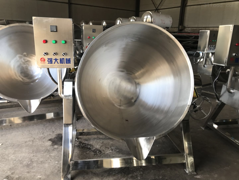 供应电加热带搅拌不锈钢夹层锅